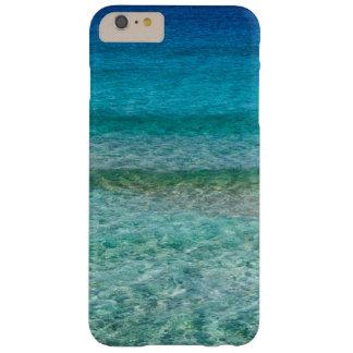 Fodral för telefon för cell för klart vattenhav barely there iPhone 6 plus skal