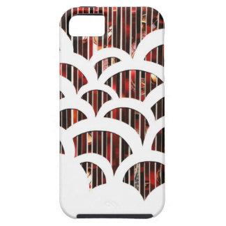 Fodral för telefon för kammussla för Eco konst iPhone 5 Skydd