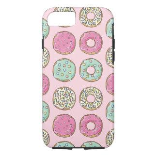 Fodral för telefon för rosa- och Mintmunktryck
