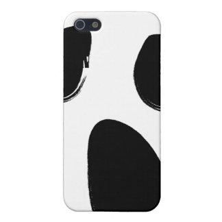 Fodral för telefon för skriansiktecell iPhone 5 skal