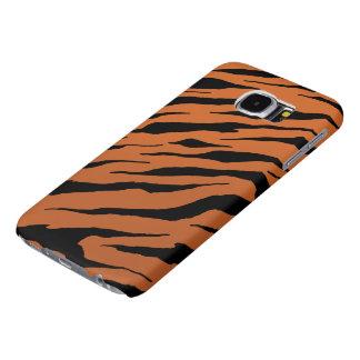 Fodral för tigerrandgalax S6 Galaxy S5 Fodral