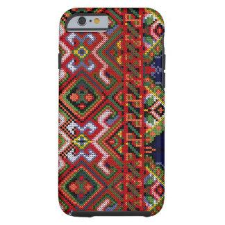 Fodral för TUFF för fodral för Ukraina Tough iPhone 6 Case