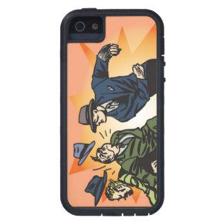 Fodral för tuff för ytterlighet för Pucnh iphone iPhone 5 Fodraler