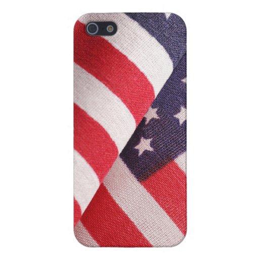 Fodral för US-flaggaiPhone 5 iPhone 5 Cover