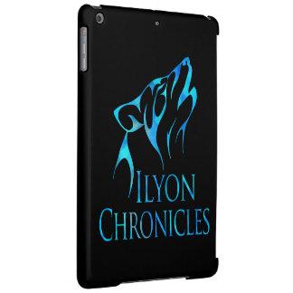 fodral för varg för blått för iPadluftIlyon