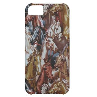 Fodral för vilda westernhästiPhone 5 iPhone 5C Fodral
