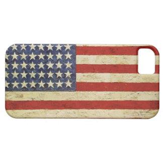 Fodral för vintageamerikanska flagganiPhone 5 iPhone 5 Fodral