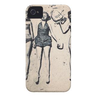 Fodral för vintageflickablackberry bold Case-Mate iPhone 4 fodraler