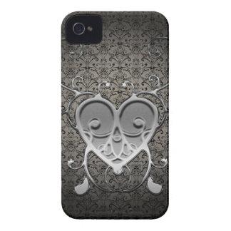 Fodral för vintagetryckblackberry bold iPhone 4 Case-Mate case