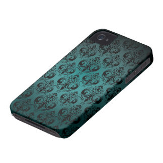 Fodral för vintagetryckblackberry bold iPhone 4 cover
