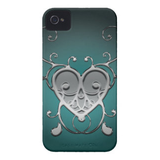 Fodral för vintagetryckblackberry bold iPhone 4 skydd