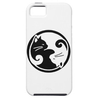 Fodral för Yin Yang kattiPhone 5/5S iPhone 5 Cover