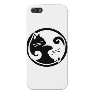 Fodral för Yin Yang kattiphone 5s iPhone 5 Cases