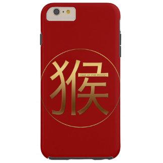 Fodral för Zodiac för apaårsfödelsedag kinesiskt Tough iPhone 6 Plus Skal