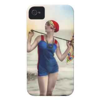 Fodral-Kompis för Babe för strand för Case-Mate iPhone 4 Fodral