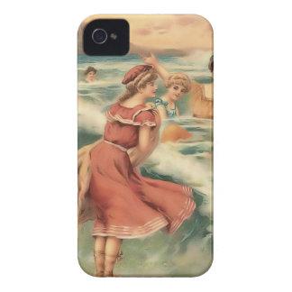 Fodral-Kompis för Babes för strand för Case-Mate iPhone 4 Cases