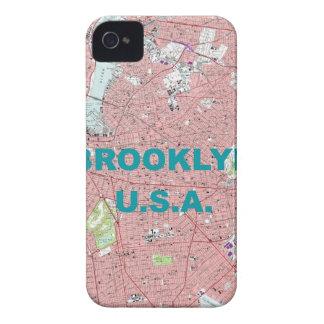 Fodral-Kompis för björnbär för Brooklyn iPhone 4 Fodraler