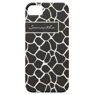 Fodral-Kompis för giraffmönsteriPhone 5 fodral (sv iPhone 5 Fodral