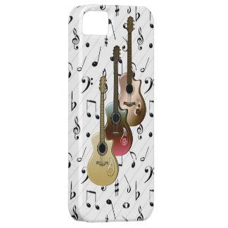 Fodral-Kompis för gitarrer för musikspelare 3 iPhone 5 Skal