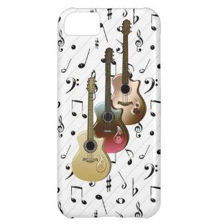 Fodral-Kompis för gitarrer för musikspelare 3 iPhone 5C Fodral
