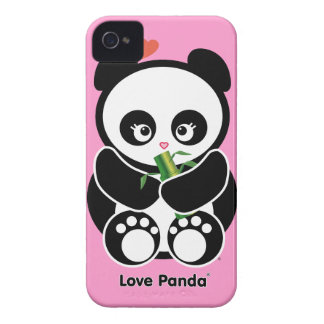 Fodral-Kompis för kärlekPanda® blackberry bold iPhone 4 Cover