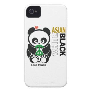 Fodral-Kompis för kärlekPanda® blackberry bold iPhone 4 Fodraler
