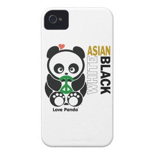 Fodral-Kompis för kärlekPanda® blackberry bold kna iPhone 4 Case-Mate Skydd