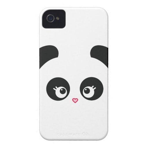 Fodral-Kompis för kärlekPanda® blackberry bold kna iPhone 4 Fodraler