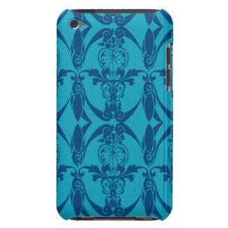 Fodral-Kompis för mönster för iPod handlagblått iPod Touch Överdrag