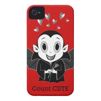 Fodral-Kompis för räkningsCute® blackberry bold iPhone 4 Cover