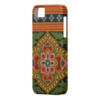 Fodral-Kompis för vintageVictoriantapet iPhone 5 iPhone 5 Skydd