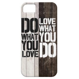 fodral Qoute för iPhone 6 på trä iPhone 5 Case-Mate Fodraler