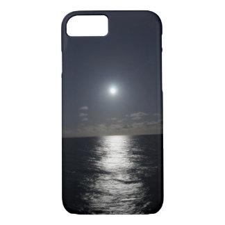 fodralmåne för iPhone 7 & havstrand på natten