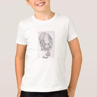 Fokusera!  KidsT skjorta T-shirt