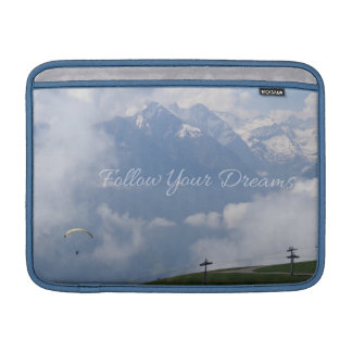 Följ dina beställnings- MacBook för drömmar sleeve