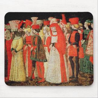 Folk av domstolen av den Sforza familjen Musmattor
