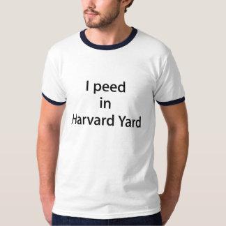 """Folk för Harvard gård """"T"""" (fundraiseren för Tee Shirts"""