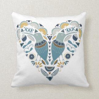 Folk konst/dekorativ kudde/afrikan/Shweshwe Kudde
