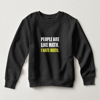 Folket är lik hatMath T-shirts