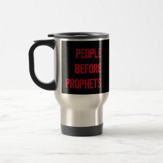FOLKET för PROFETER hoade kaffe Rostfritt Stål Resemugg