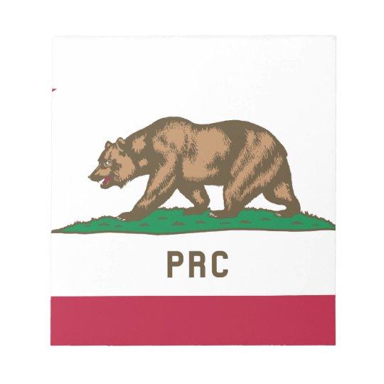 Folkets republik av Kalifornien Anteckningsblock
