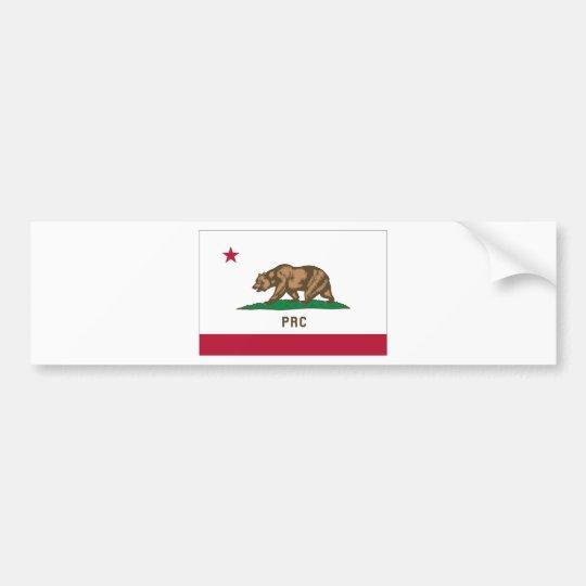 Folkets republik av Kalifornien Bildekal