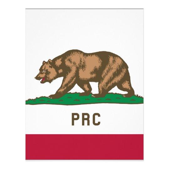 Folkets republik av Kalifornien Brevhuvud