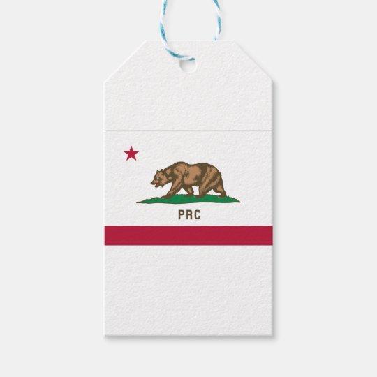 Folkets republik av Kalifornien Presentetikett