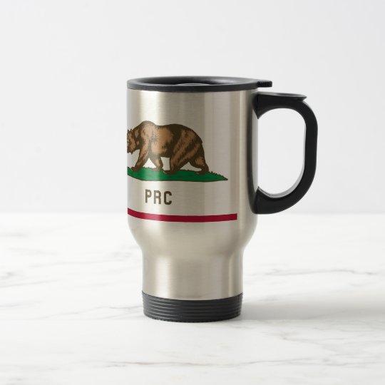 Folkets republik av Kalifornien Rostfritt Stål Resemugg