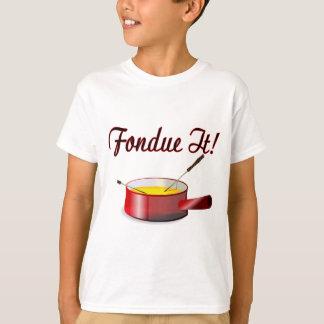 Fondue det t shirts