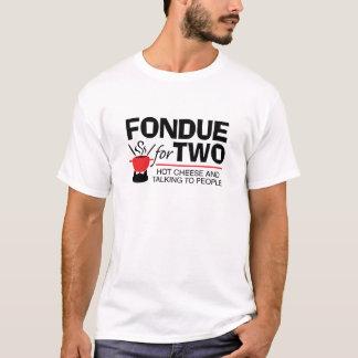 Fondue för två t shirt