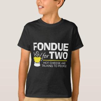 Fondue för två t shirts