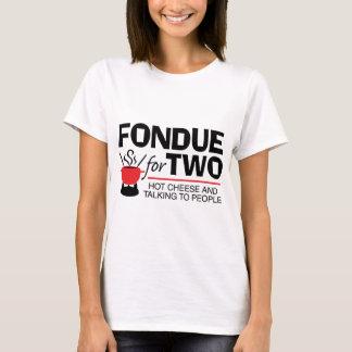 Fondue för två tee shirts