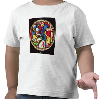 Fönster som visar annunciationen till tee shirt